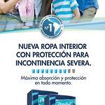 PLENITUD nueva ropa interior para adultos incontinencia severa - 10sep14