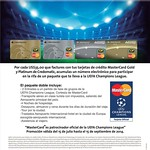 mastercard CHAMPIONS LEAGUE official card