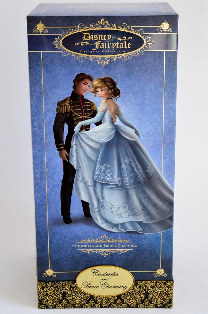 Cinderella And Prince Charming Doll Set Disney Fairytale