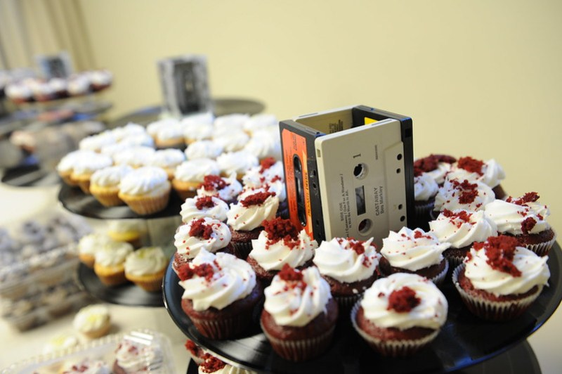 Music-themed wedding from @offbeatbride