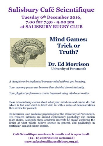 Mind games trick or truth poster for dr ed morrison solutioingenieria Images