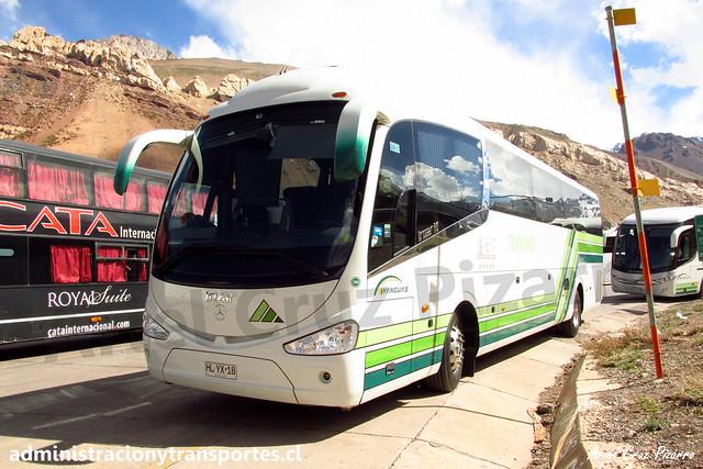 Yanguas | Paso Los Libertadores | Irizar I6 - Volvo / HLYX18
