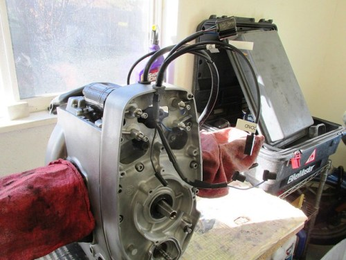 """New Front Engine Wiring Harness-""""D"""" Grommet Fits in Front Slot of Timing Chest Cover"""