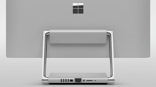 La filosofía de la lamparita,concebida por Steve, presente en la Surface Studio.