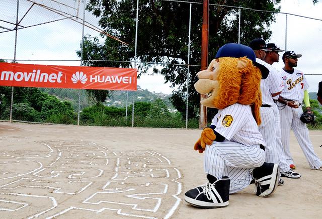 La marca tecnológica china Huawei y el operador del estado venezolano Movilnet, nos conectan con la pasión del béisbol.