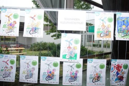 kleurwedstrijd voor kinderen tijdens West-Vlaanderens Mooiste