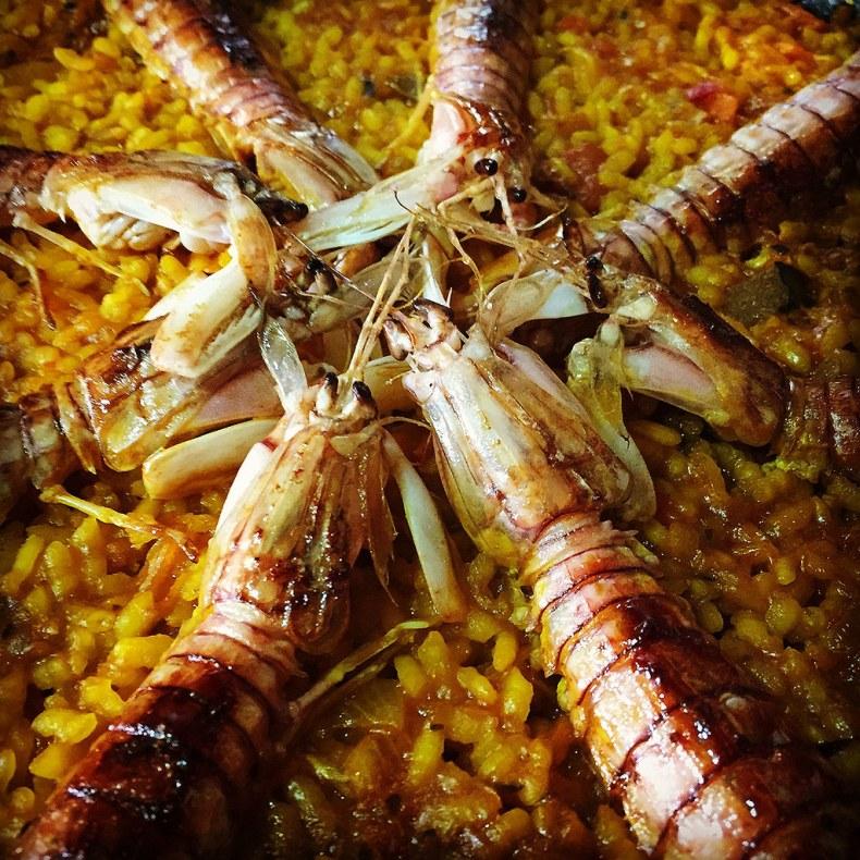 Paella de Galeras