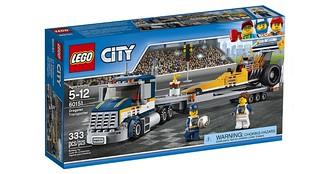 60151 Dragster Transporter box
