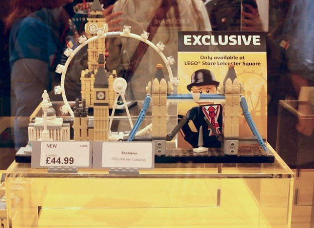 World's largest LEGO store opens in London's Leicester Square ...