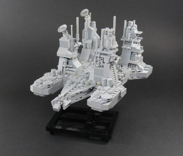 LEGO Alien refinery by Grantmasters