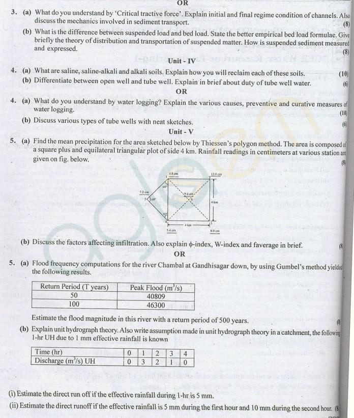RTU: Question Papers 2014 – 7 Semester - CE - 7E4032