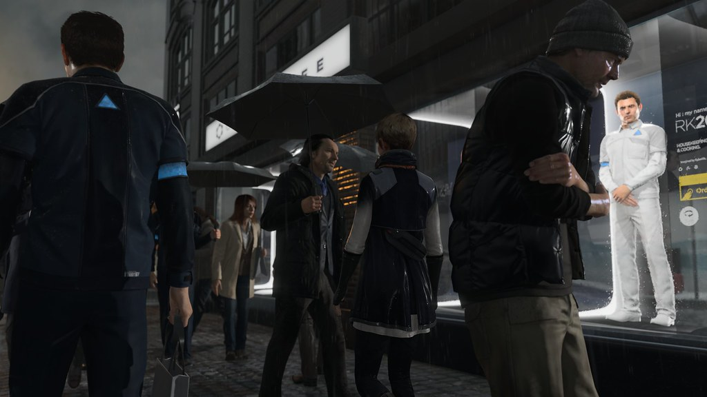 Detroit: Become Human Is A Different Experience From Beyond & Heavy Rain 1