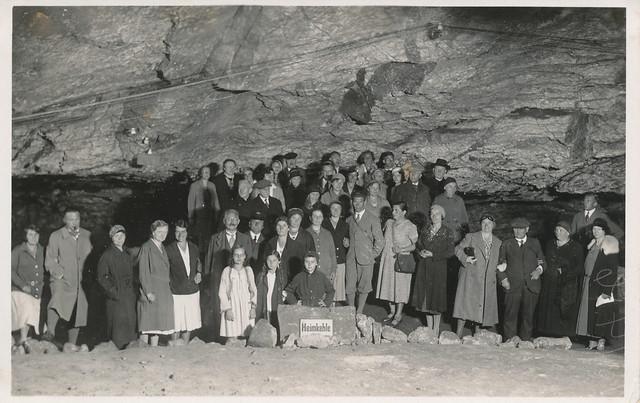 Heimkehle - Foto aus einem alten Album vom Flohmarkt - gescannt - leider keine weiteren Angaben