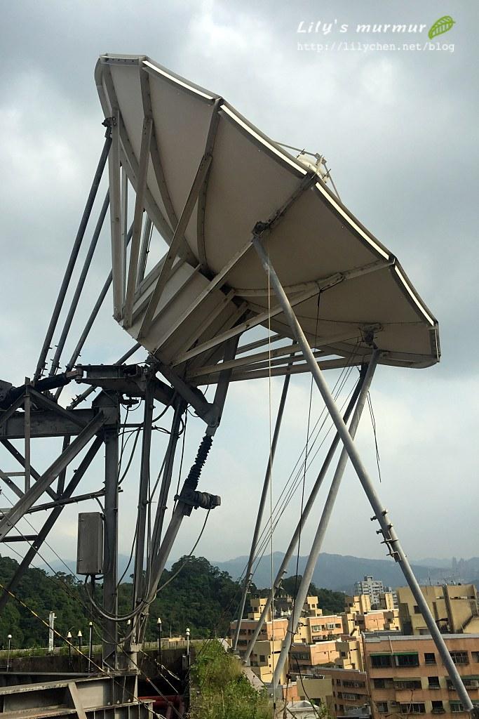 公共電視台頂樓的發射站