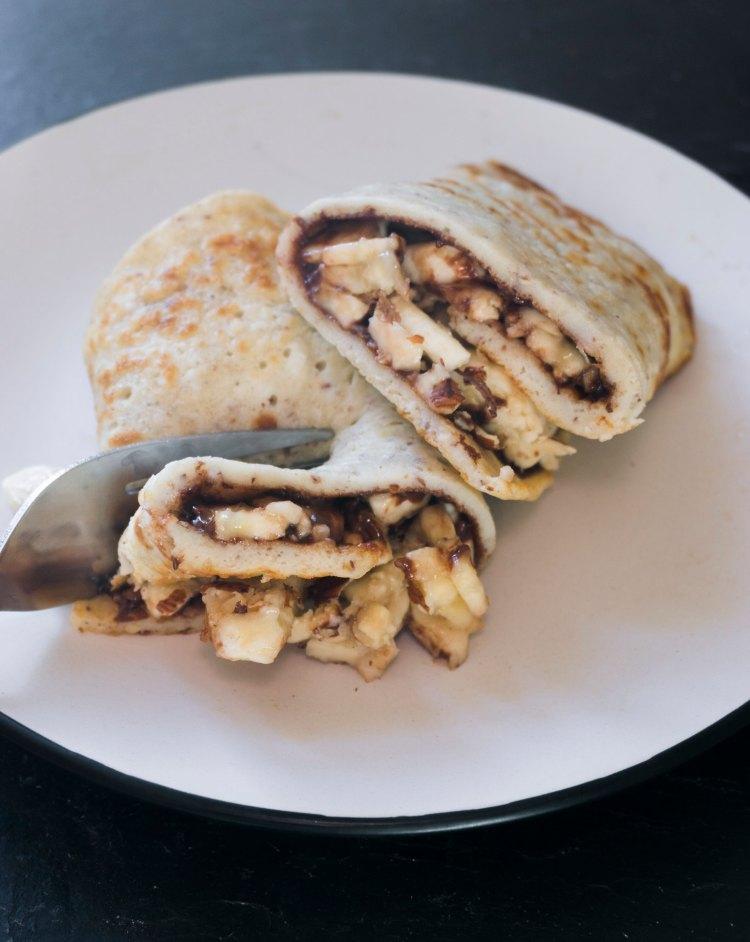 Basic thin gluten free pancakes - www.kimieatsglutenfree.com