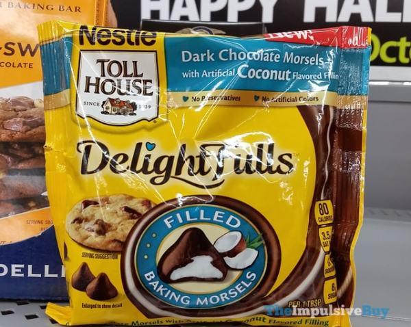Nestle Toll House Dark Chocolate Morsels with Coconut Fill