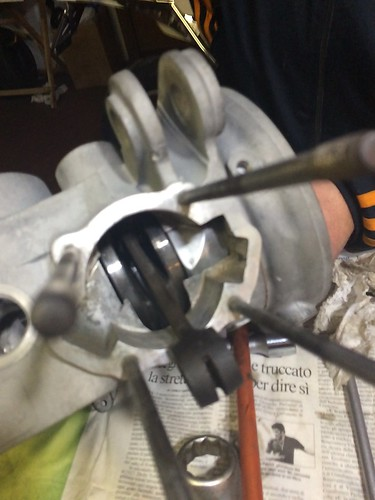 Montaggio albero motore Lambretta 150D