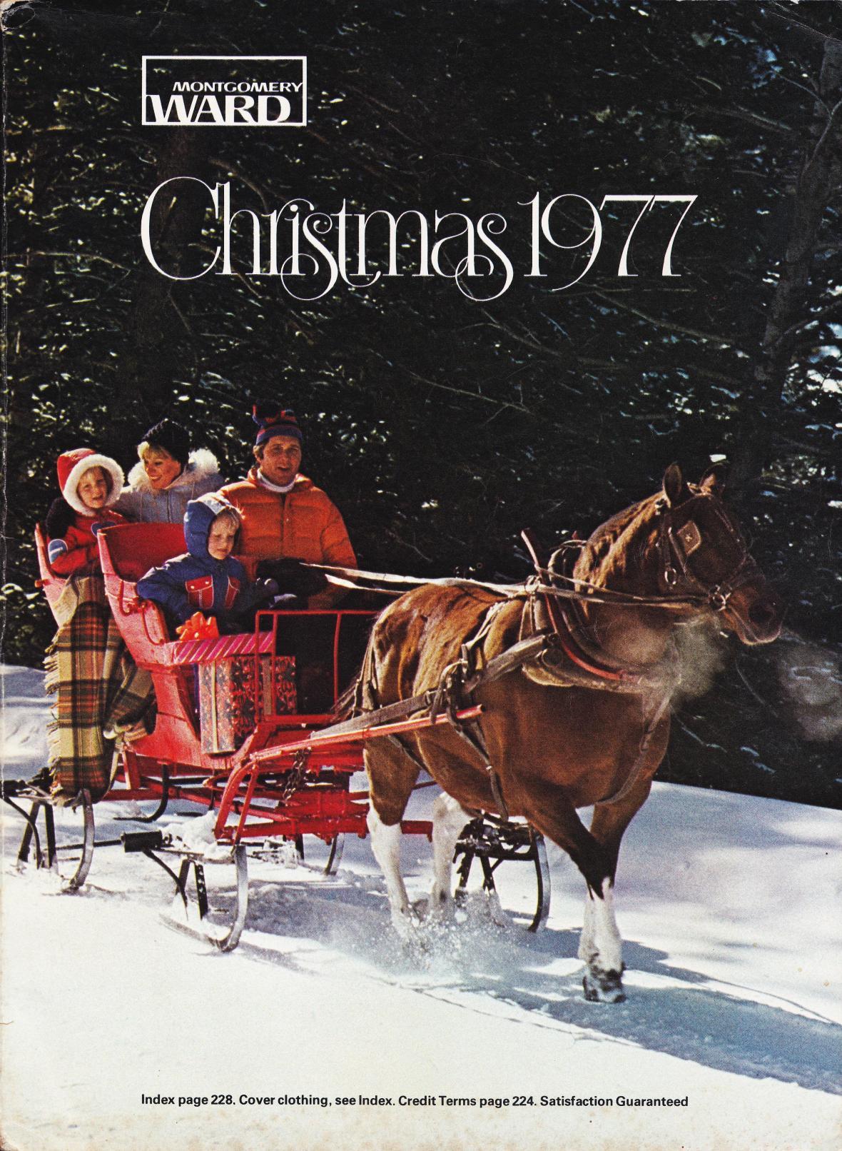 Montgomery Ward Christmas 1977 catalog