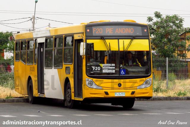 Transantiago F20 | STP Santiago | Caio Mondego H 13.2 - Mercedes Benz / FLXJ59