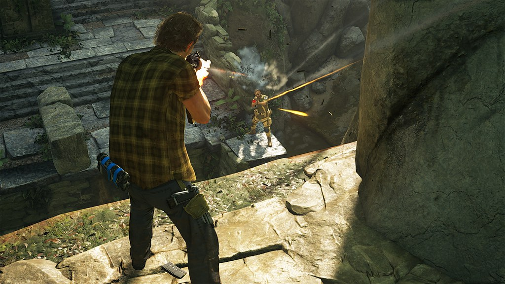 Uncharted 4: A Thief's End - Multiplayer Reveal Trailer 15