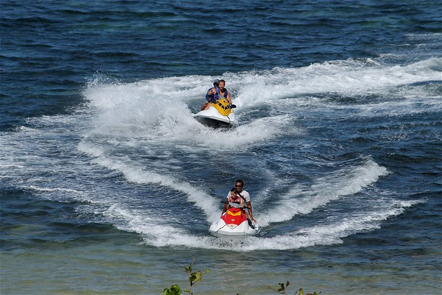 Jetskiiing at Tanjung Benoa Beach