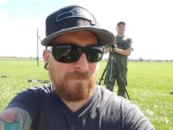 Shootin' and spottin'
