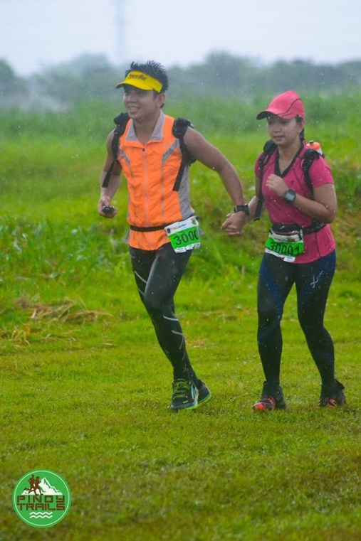Running in the Rain at the Valley Trail Challenge