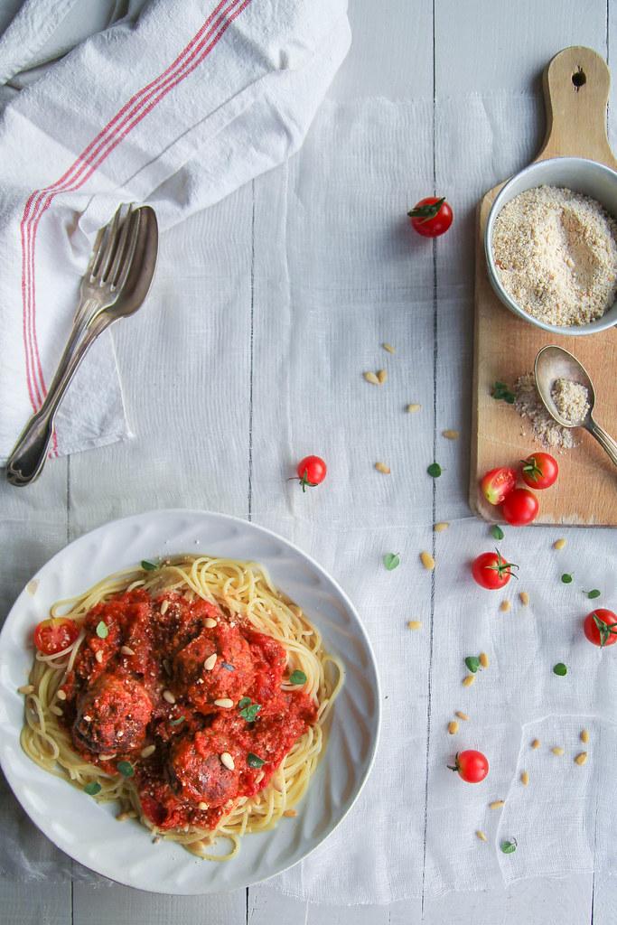Spaghetti boulette
