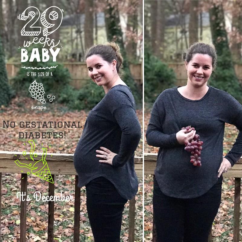 29 weeks pregnant
