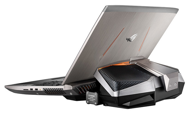 Sencillamente super poderosa esta portátil para juegos de Asus.