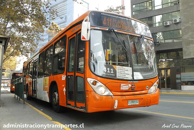 Transantiago 411 | Express | Marcopolo Gran Viale - Volvo / CJRH52