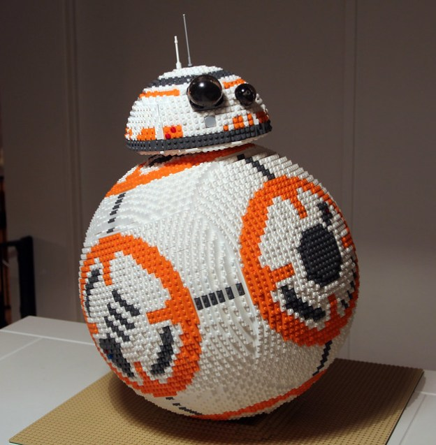 LEGO BB-8 on Flickr by Henrik Lorentzen