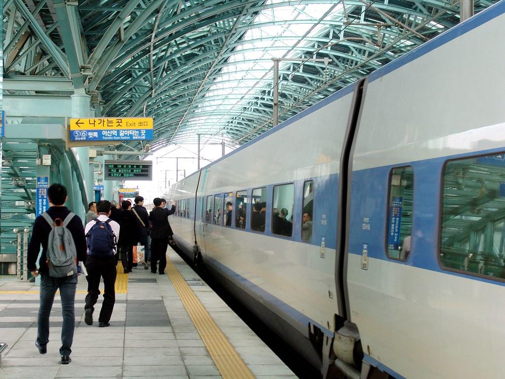 韓國牙山-高鐵天安/牙山站1 (Korean Train Express:Cheonan-Asan Station,… | Flickr