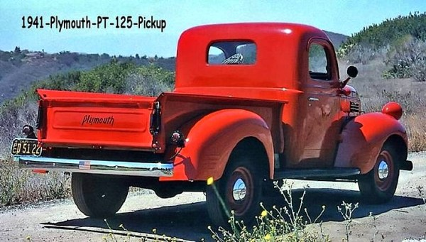 1941 Plymouth 125 PT Pickup | Image - courtesy Ken Hand ...