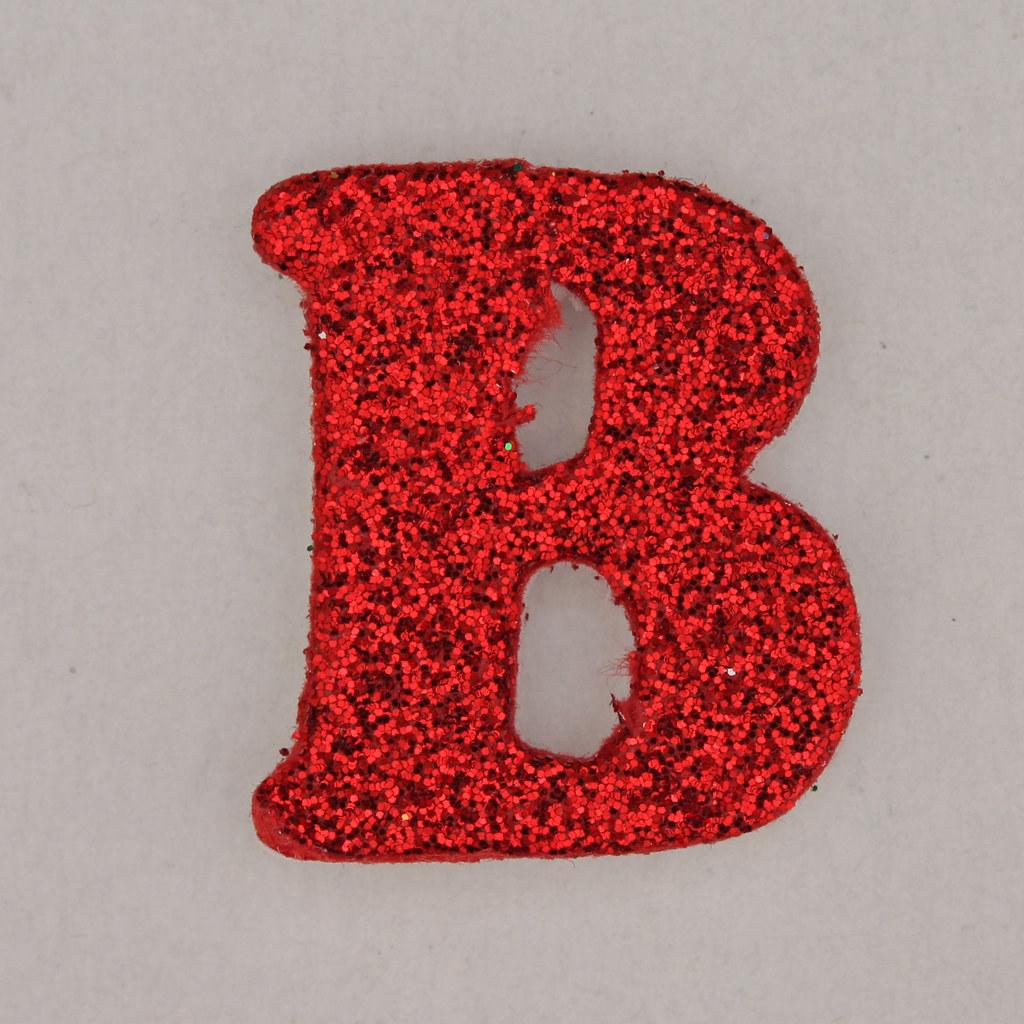 Christmas Sparkle Letter B Leo Reynolds Flickr