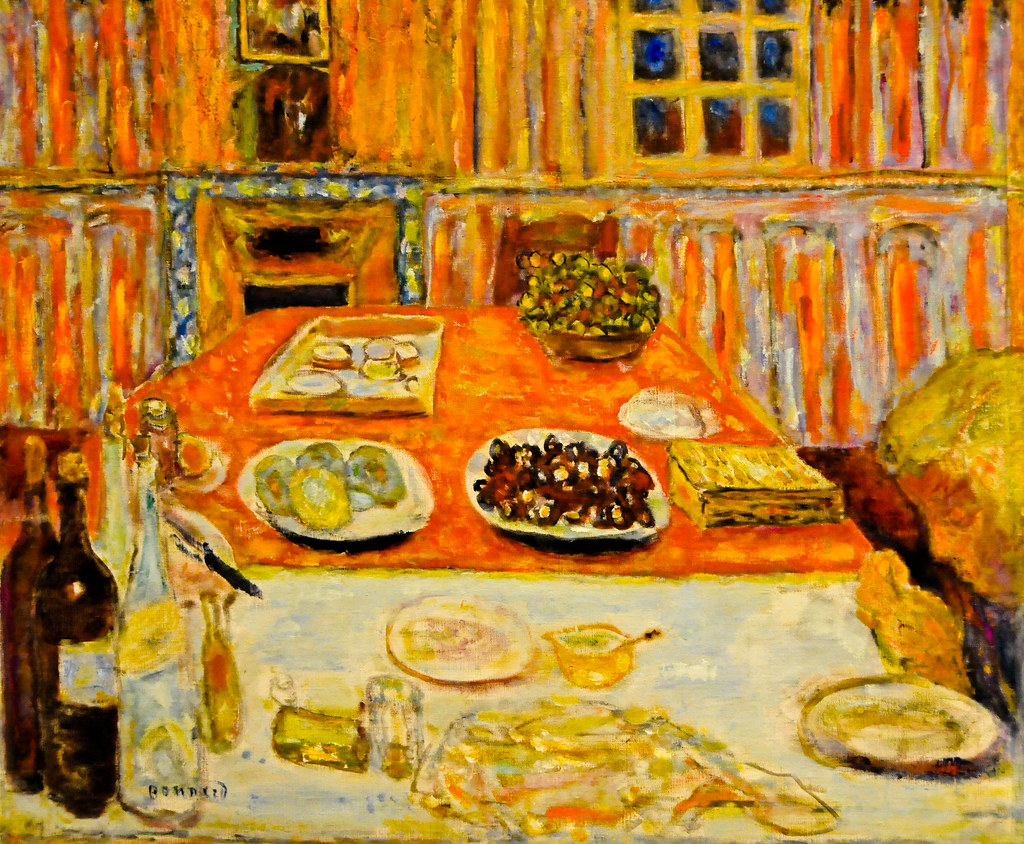 Pierre Bonnard The Dining Room 1947 At The Virginia Mus