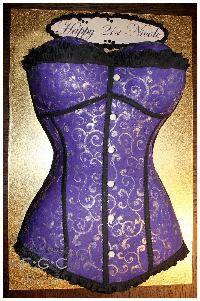 Corset Cake Corset Cake Chocolate Cake Filled With