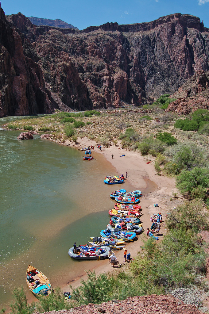Grand Canyon National Park Phantom Ranch Boat Beach 0028