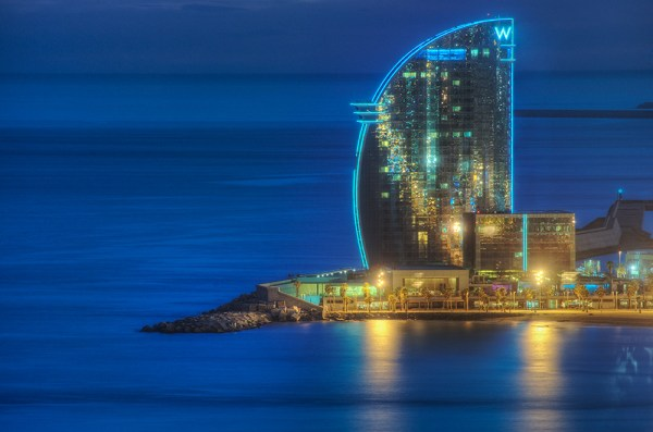 W Barcelona (Spain), HDR | W Barcelona, popularly known as ...