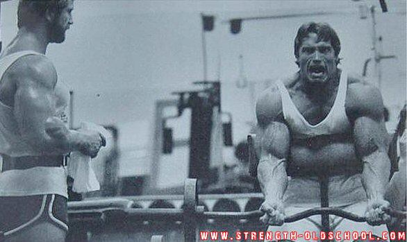 1980 Mr Olympia Contest Training - Arnold Schwarzenegger T ...