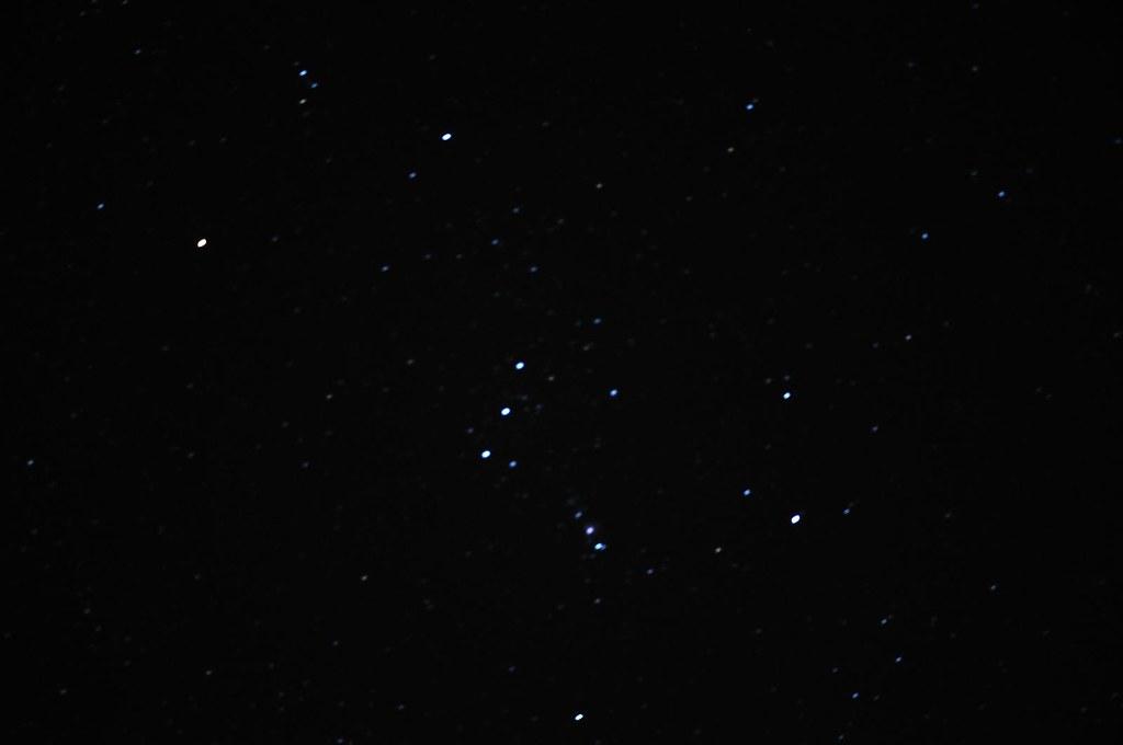 東勢林場-獵戶星座 | 冬天時最顯眼的星座 | king.f | Flickr
