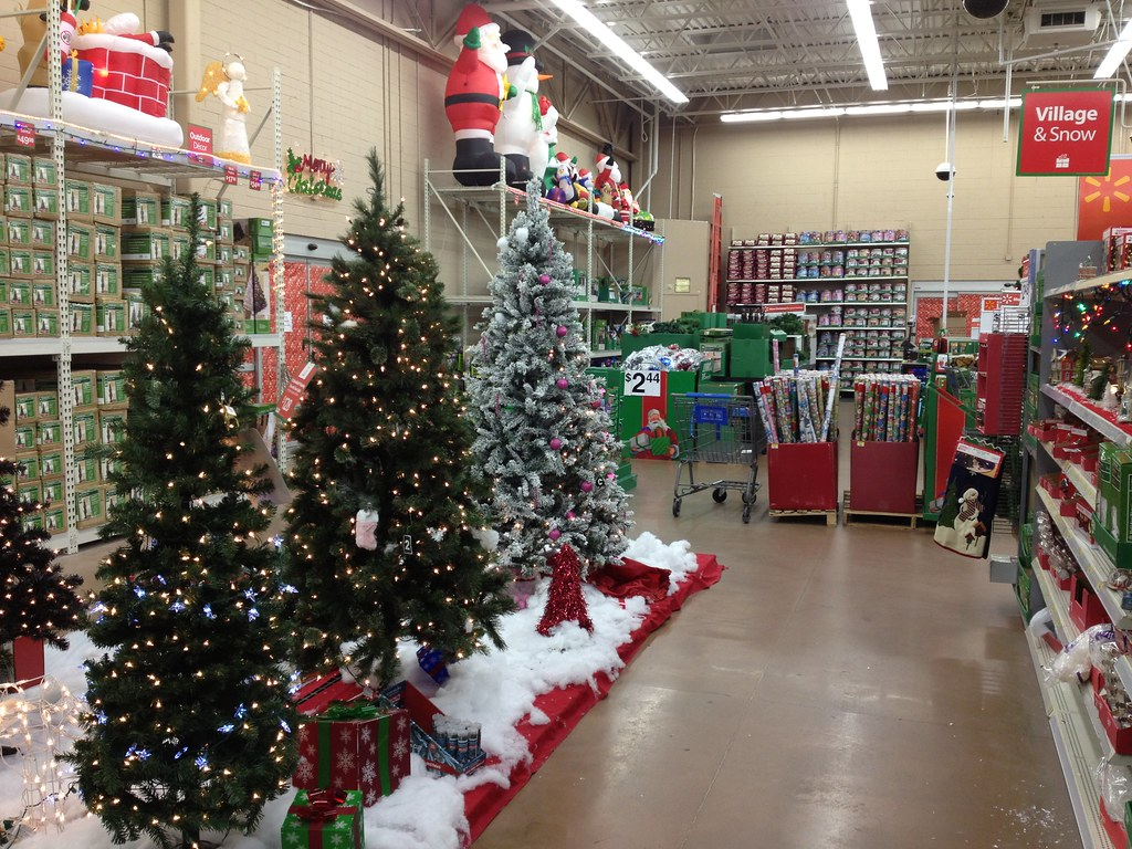 Walmart Christmas Display Michael Flickr