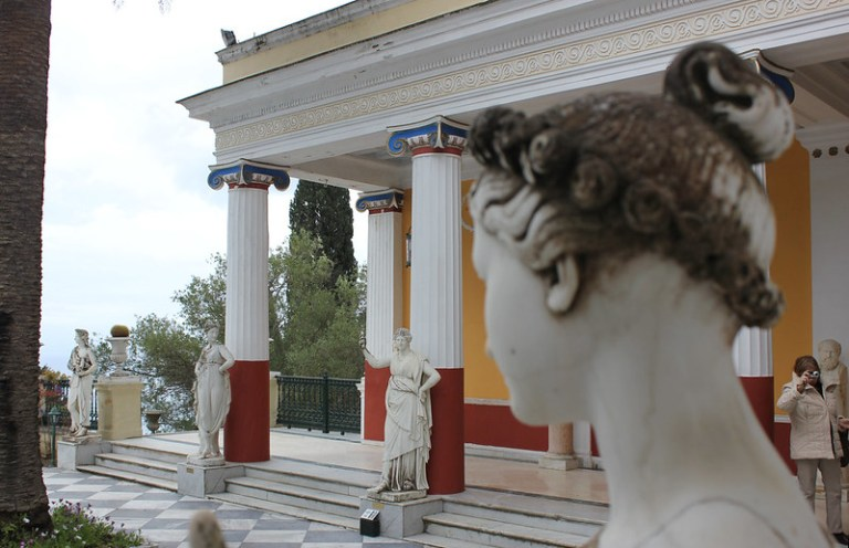 Visit the Achilleion Museum in Corfu