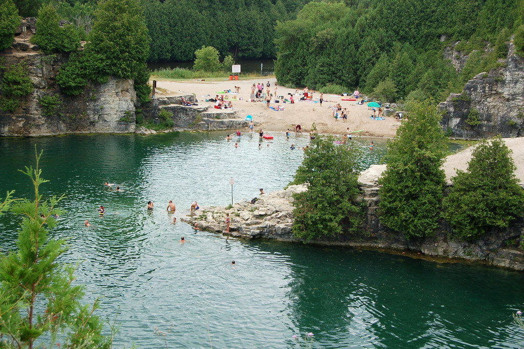 Elora Quarry Grand River Conservation Authority Flickr
