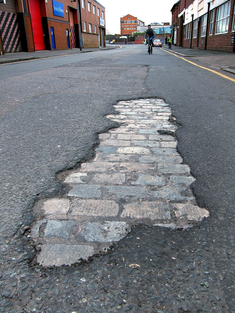 Boyle Family Art In Digbeth There Are Six Layers Of Road