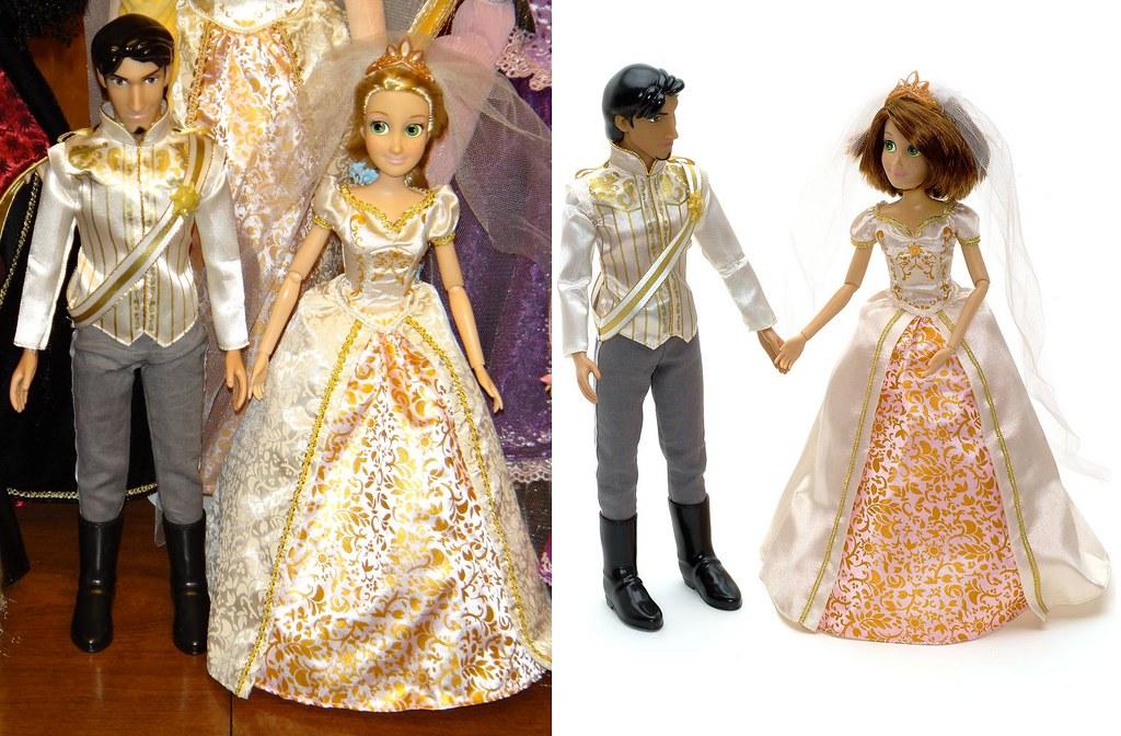 Wedding Rapunzel And Flynn Rider 12 Dolls First Vs Sec