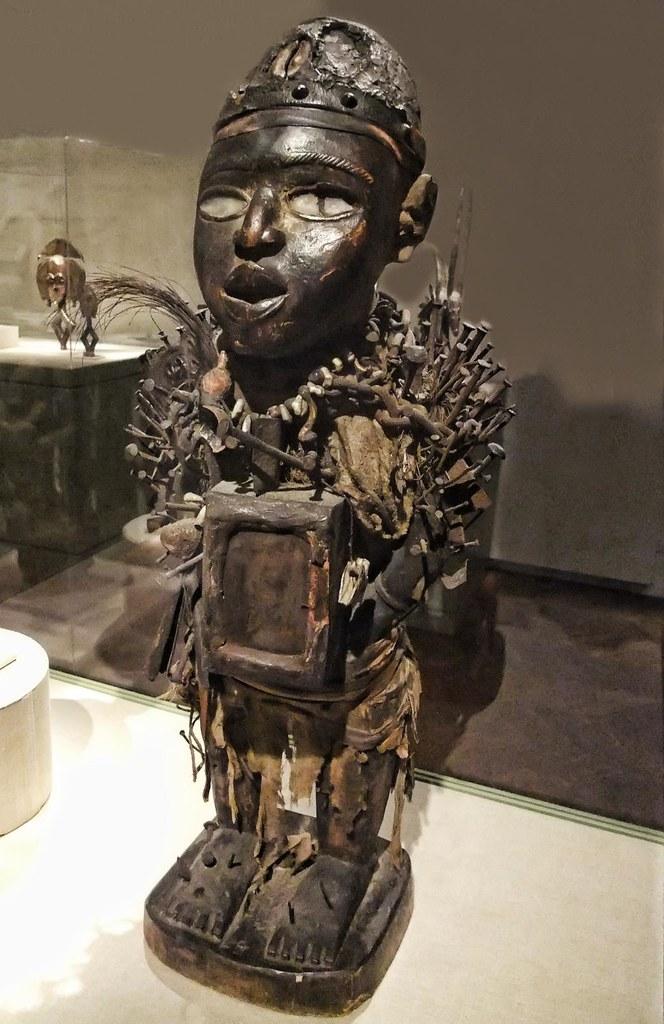 Power Figure Nkisi Nkondi Vili Kongo Republic Of Congo E