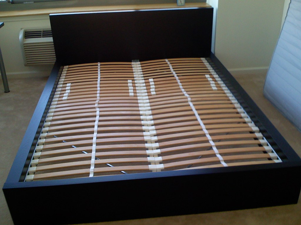 IKEA Malm Bed With Sultan Laxbey Slats IKEA Malm Beds