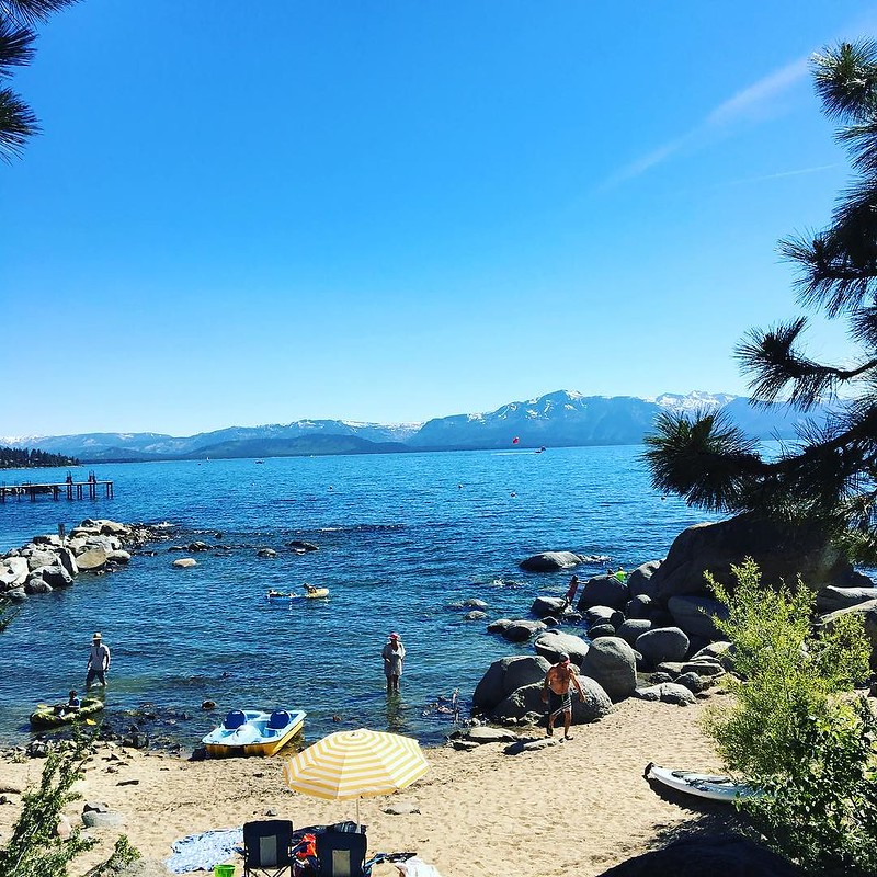 Da BEACH! #tahoe #beach