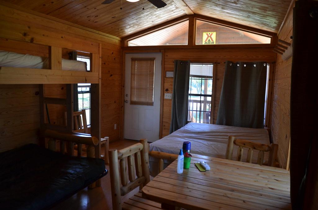 Starved Rock Koa Camping Cabin Starved Rock Area Camp